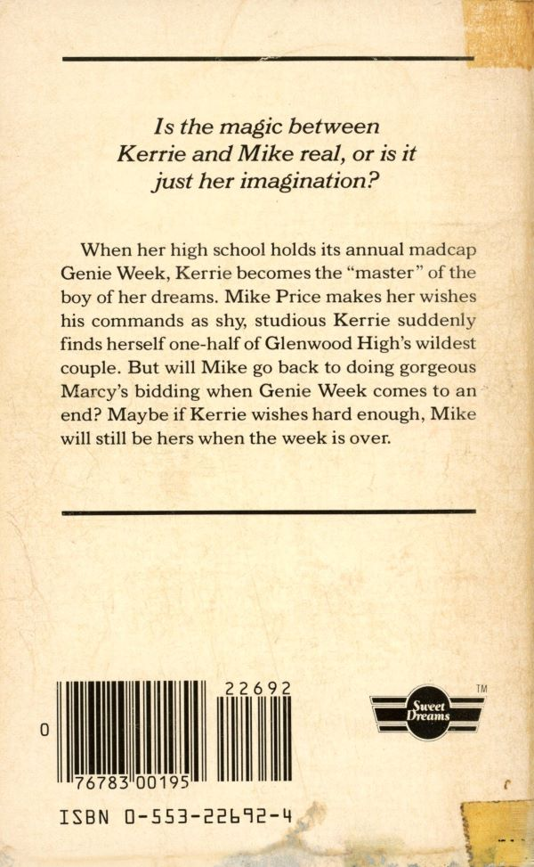 must be magic back cover