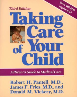 Taking Care of your child book cover