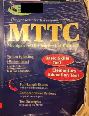 MTTC test review