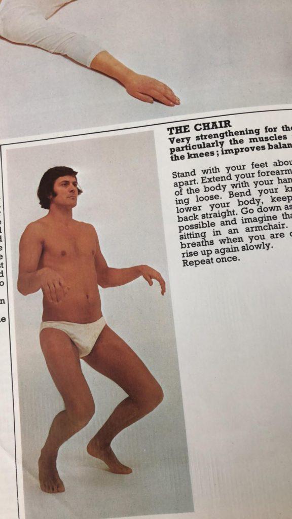 Yoga - The Chair