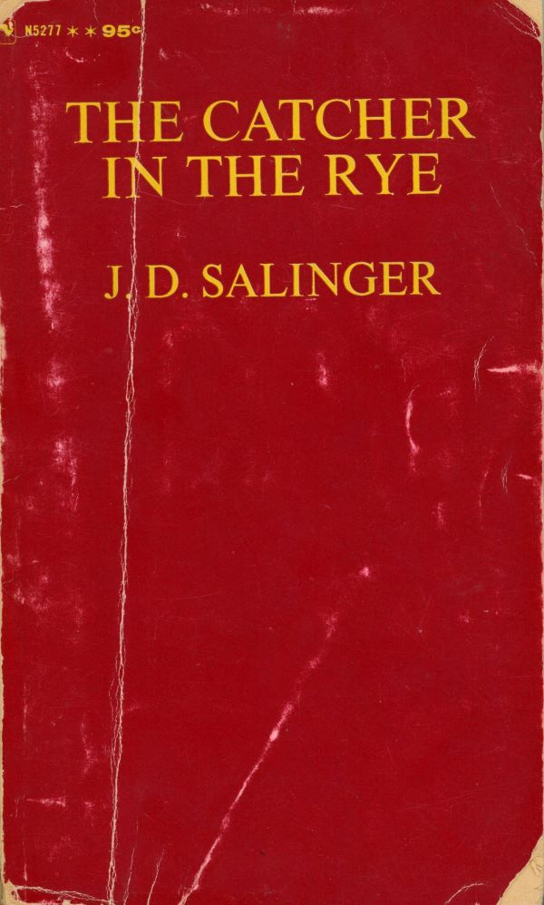 book cover of catcher in the