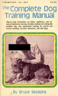 The Complete Dog Training Manual book cover
