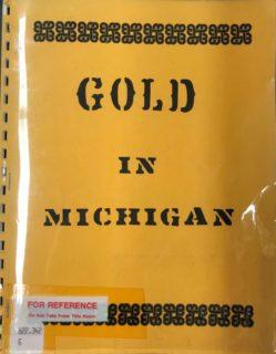 Gold in Michigan cover