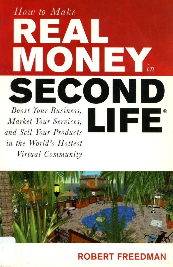 how to make real money in 2nd Life cover