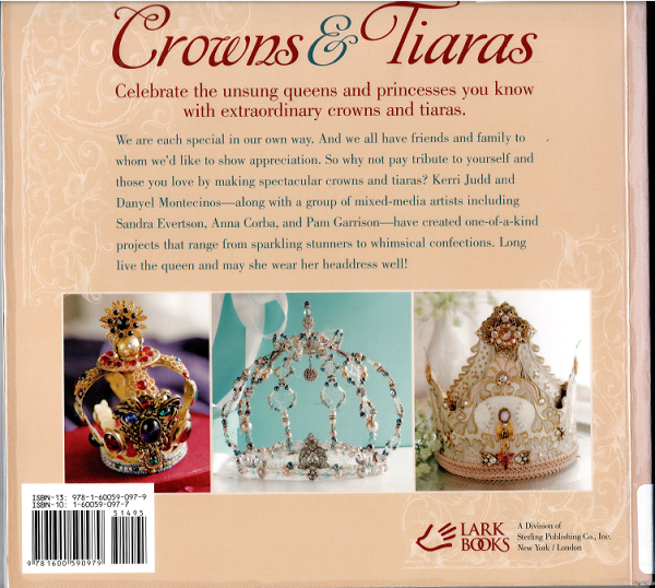 Crowns and Tiaras back cover