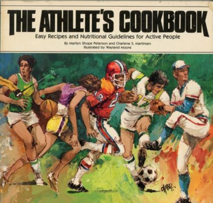 athlete's cookbook cover