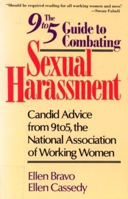 sexual harassment book cover