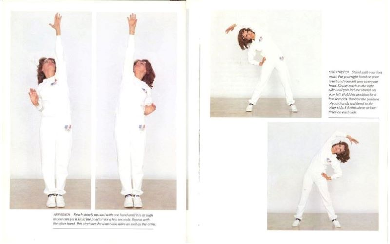 Sophia Lauren exercising