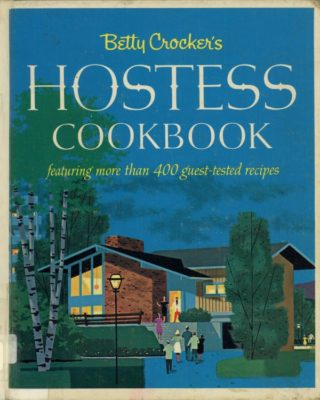 hostess cookbook cover