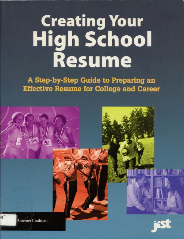 creating your high school resume cover