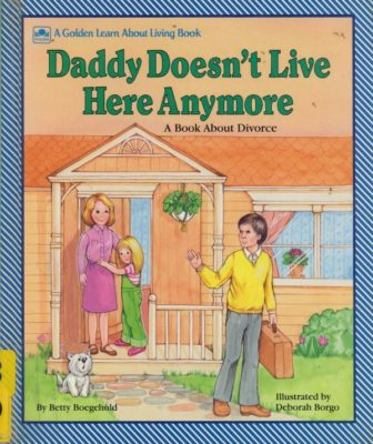 daddy doesn't live here any more cover