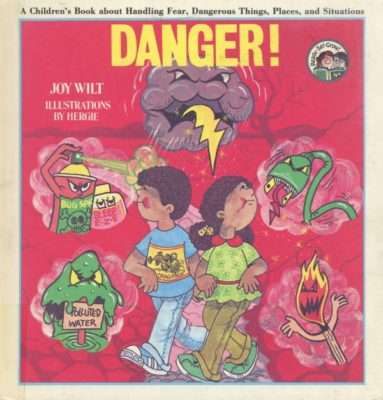 danger book cover