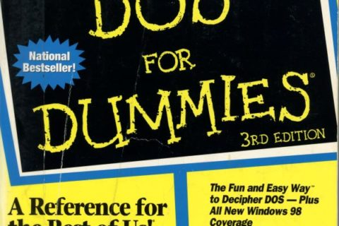 DOS for dummies cover