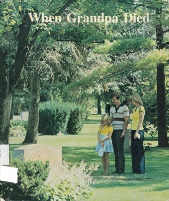 When Grandpa Died cover