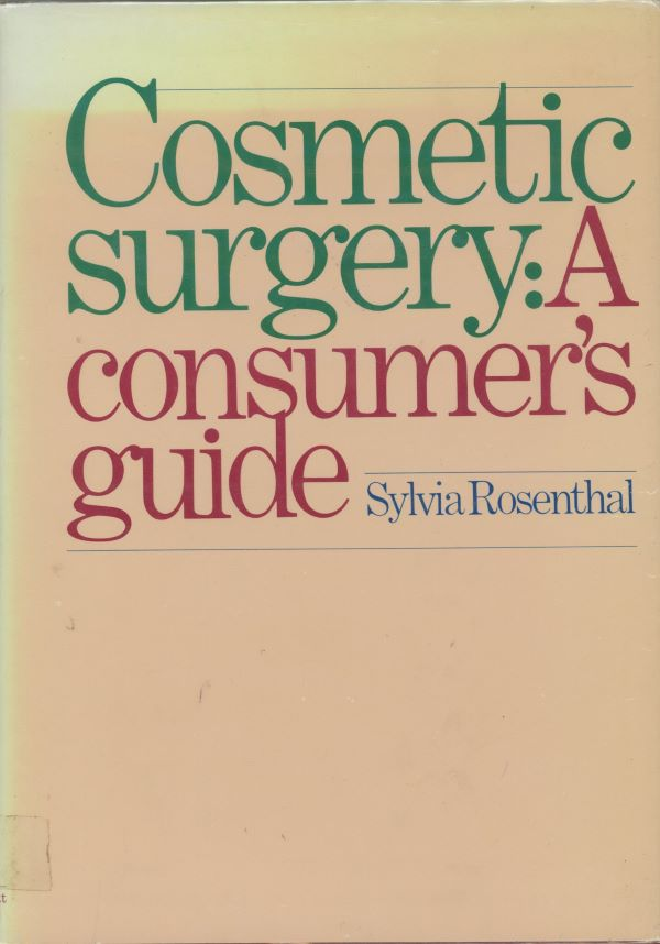cosmetic surgery a consumer's guide cover