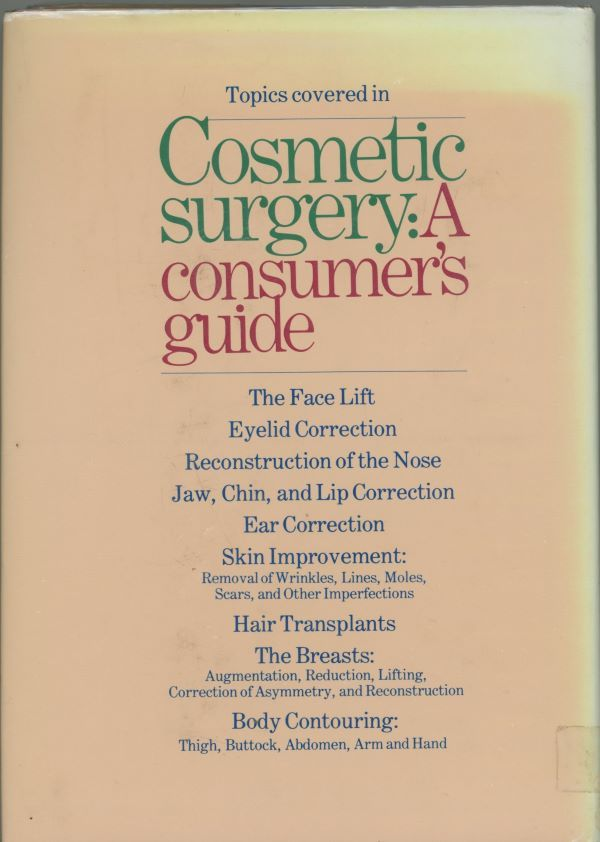 back cover cosmetic surgery