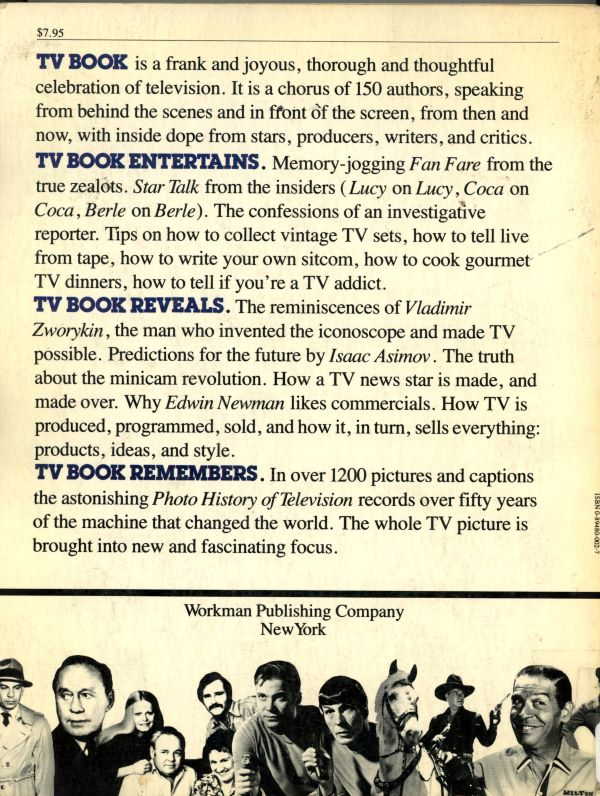 TV book back cover