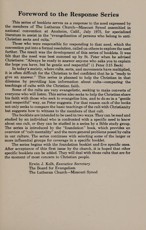 LDS Foreword