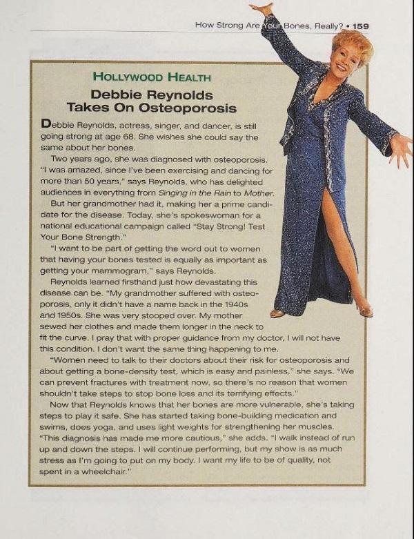 Women's Health osteoporosis