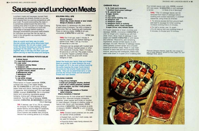 Sausage and luncheon meats