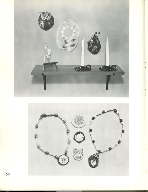 candles and jewelry
