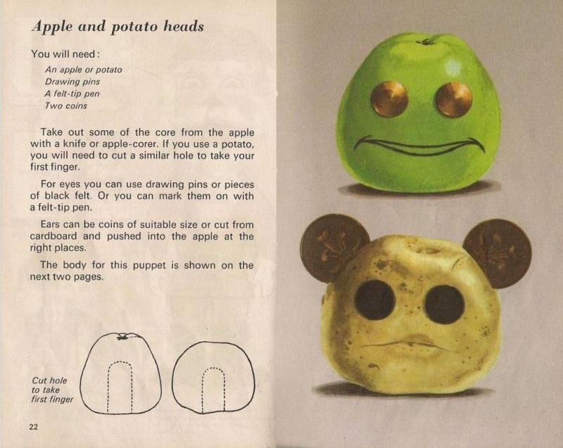 apple and potato heads
