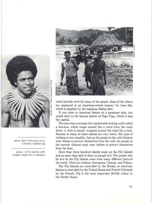 The Orient - Samoans