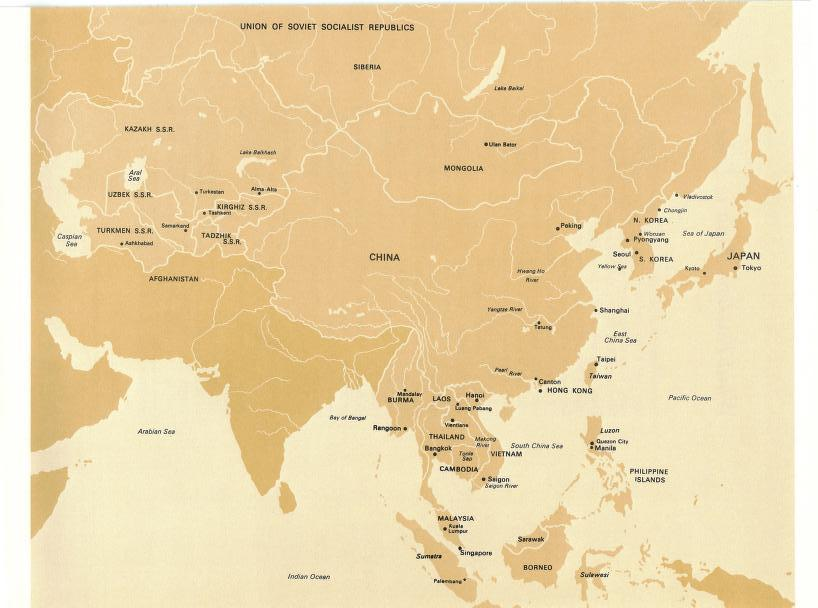 The Orient - map