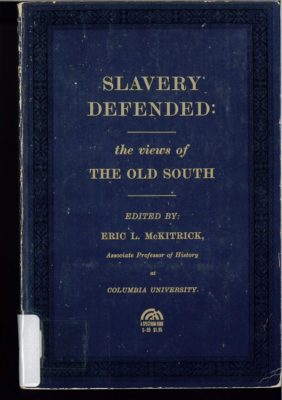 Slavery Defended cover