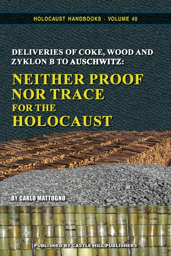 Neither Proof nor Trace for the Holocaust cover