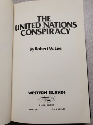 United Nations Conspiracy title page