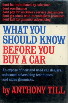 what you should know before you buy a car