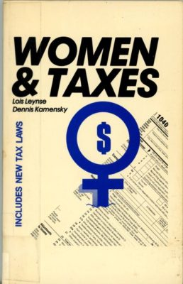 Women and Taxes book cover